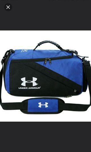 💯✔ INSTOCK FREE Reg. Delivery Under Armour  3 WAY Duffle Travel  Sports Bag /Bagpack, Sling bag