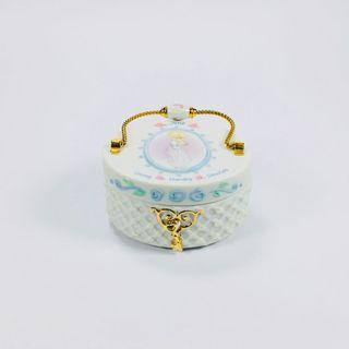 Collectible covered porcelain box