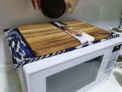 Oven mat, placement mat.  Custom made
