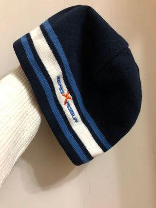 🚚 深藍運動薄款毛帽/保暖/無厚重感/男女皆可