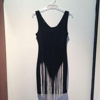 Bodycon Fringe Dress