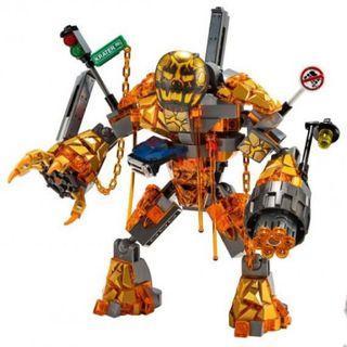 LEGO 76128 Molten Man only (NO Minifigures)
