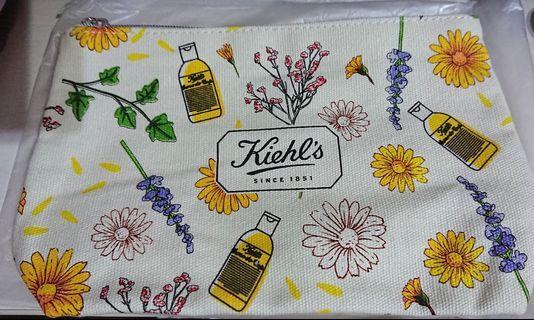 Kiehls Kiehl's 金盞花 化妝袋