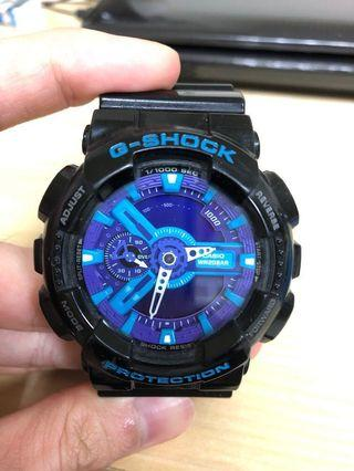 Gshock黑藍紫