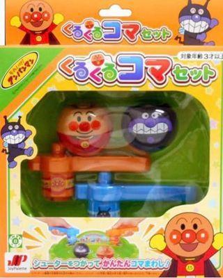 Anpanman 麵包超人陀螺玩具