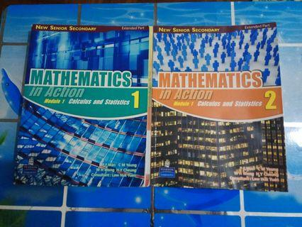 NSS Mathematics in Action Module 1 Calculus and Statistics 1 & 2