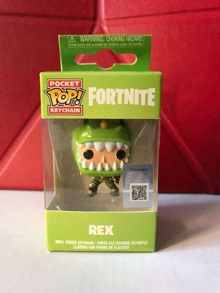 Fortnite Keychain - Rex