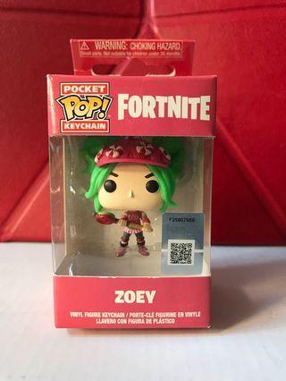 Fortnite Keychain - Zoey