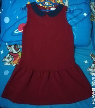Dress Maroon Seed for kids