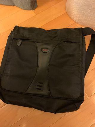 TUMI messenger bag for work and travel