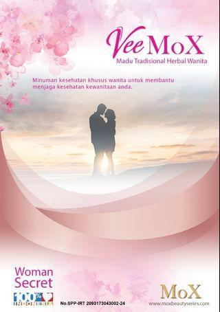 VeeMoX Madu Tradisional Herbal Wanita 250 ml.