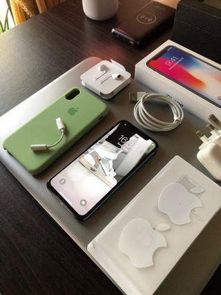 Iphone x 256gb grey like new