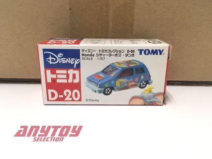 Tomica Disney D-20 Honda City Turbo R Dumbo 小飛象