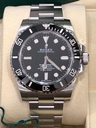 Rolex Submariner No-Date 114060 (Brand New)
