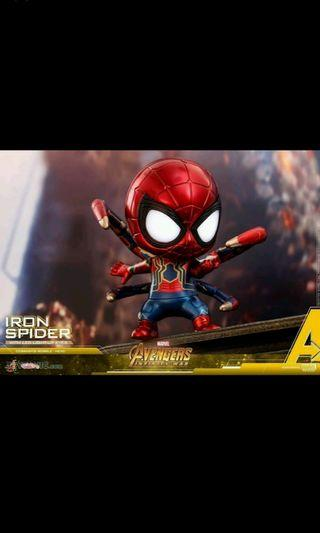 Iron Spider Cosbaby (S) Bobble-Head (With Light-up Function)
