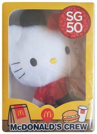 🚚 Exclusive SG50 themed Hello Kitty Plush Collectible