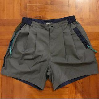 Kolor beacon shorts 拼接短褲 Sacai