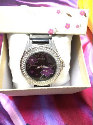 🚚 陶瓷晶鑽錶