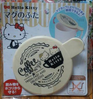 包平郵 日本直送 Hello Kitty Sanrio mug cover 杯蓋