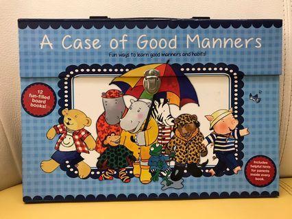 A case of good manners 禮貌小書box set