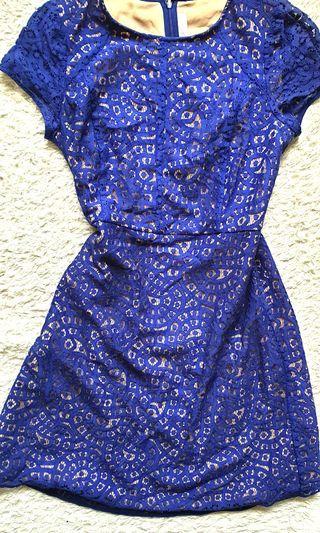 Blue Dress (Loft)