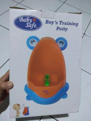 Boy's potty training