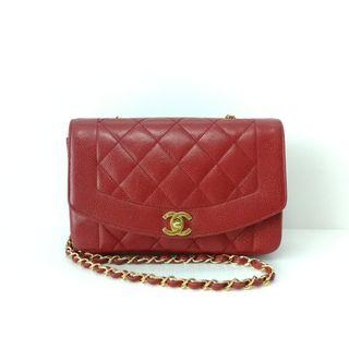 Authentic Chanel Diana Small Flap Bag