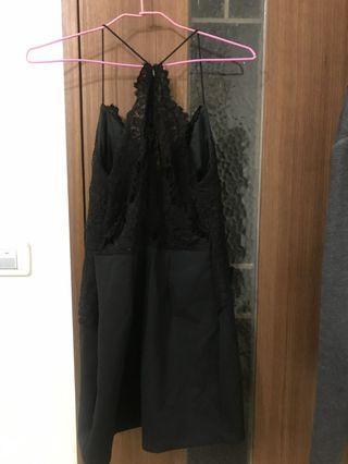 Air space黑色洋裝 小禮服
