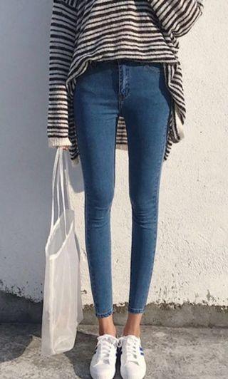 denim jeans (ulzzang)