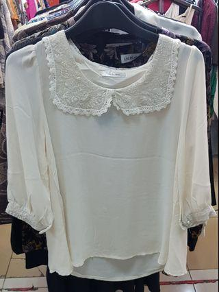 White Blouse (broken white)