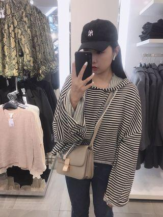 條紋破損連帽上衣chufei miyuki Pazzo lovfee Samantha amissa Zara