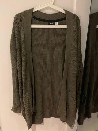 urban outfitters BDG green cardigan