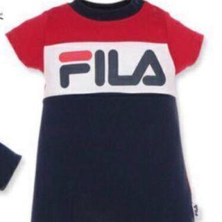購自日本 西松屋 Fila 短褲仔衫, 70碼(3-6個月著)限定商品