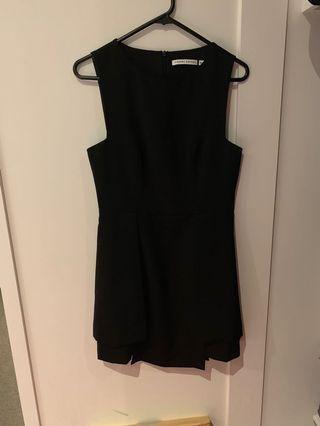 finders keepers black mini dress