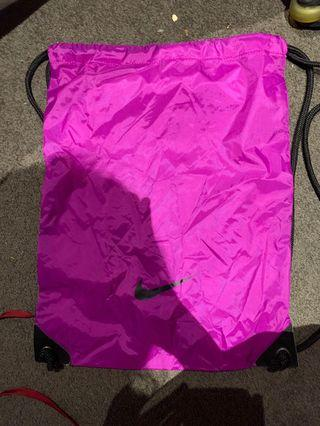 Nike Purple gym sack