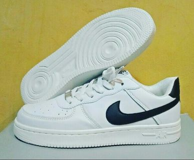 f61016e9b6996 Nike Air Force 1 Authentic White Black Airforce 1 Running Shoes Sneakers  Women