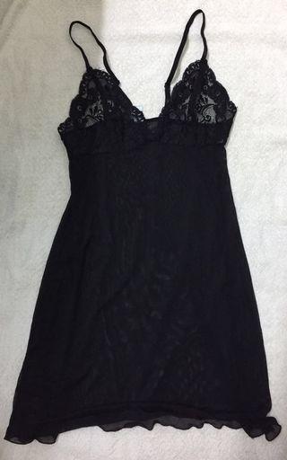 Vanity Fair Lingerie (Sheer Black Lace)