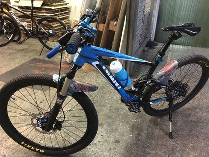Giant anthem bike for sale 26.5 upgraded