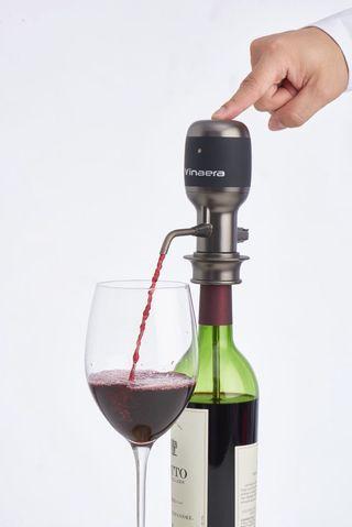 VINAERA PRO World First Adjustable Electric Wine Aerator