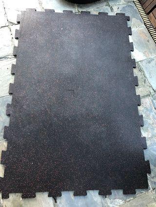 Gym heavy duty mat