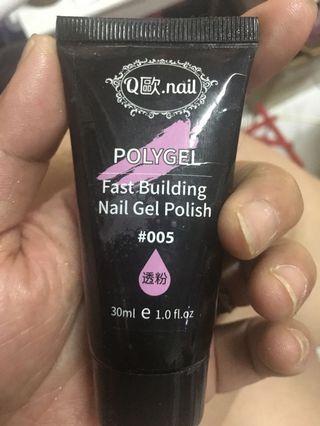 🚚 Q歐.nail 美甲粉底色延長膠。
