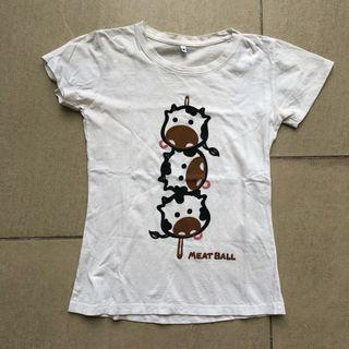 Cow Meatball Graphic Tee (T-shirt) #GayaRaya