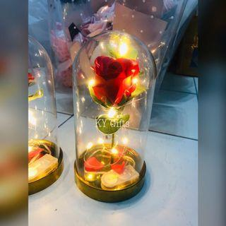 Enchanted Roses 🌹 In Glass Dome