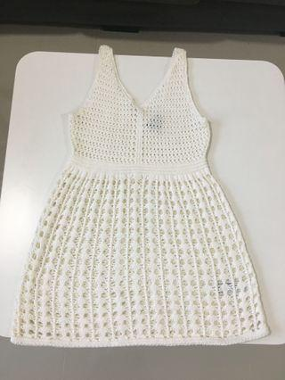 #GayaRaya Topshop knitted dress / beach wear