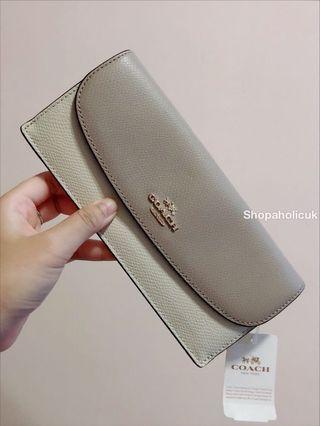 Coach wallet 拼色長銀包