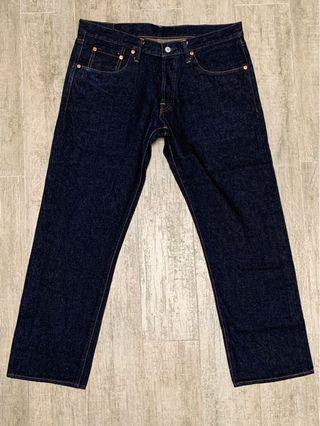 日本製日牌 Burgus Plus 16oz Tapered 牛仔褲 Lot.850