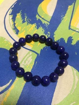10mm lapis lazuli royal blue bracelet