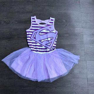 Superman dress for age 2-3 yrs old