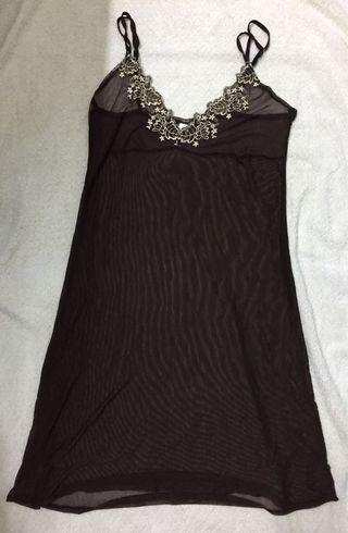 Vanity Fair Lingerie (Dark Brown Lace)