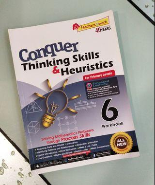 Conquer Thinking Skills & Heuristics Workbook 6